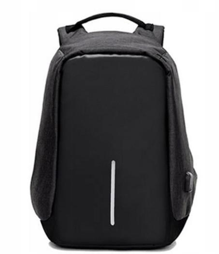 Plecak antykradzieżowy czarny