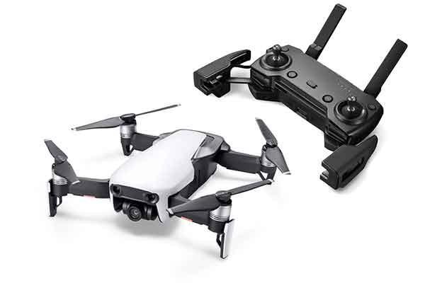 Dron DJI Mavick Air z kontrolerem